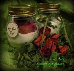 rose petal sugar