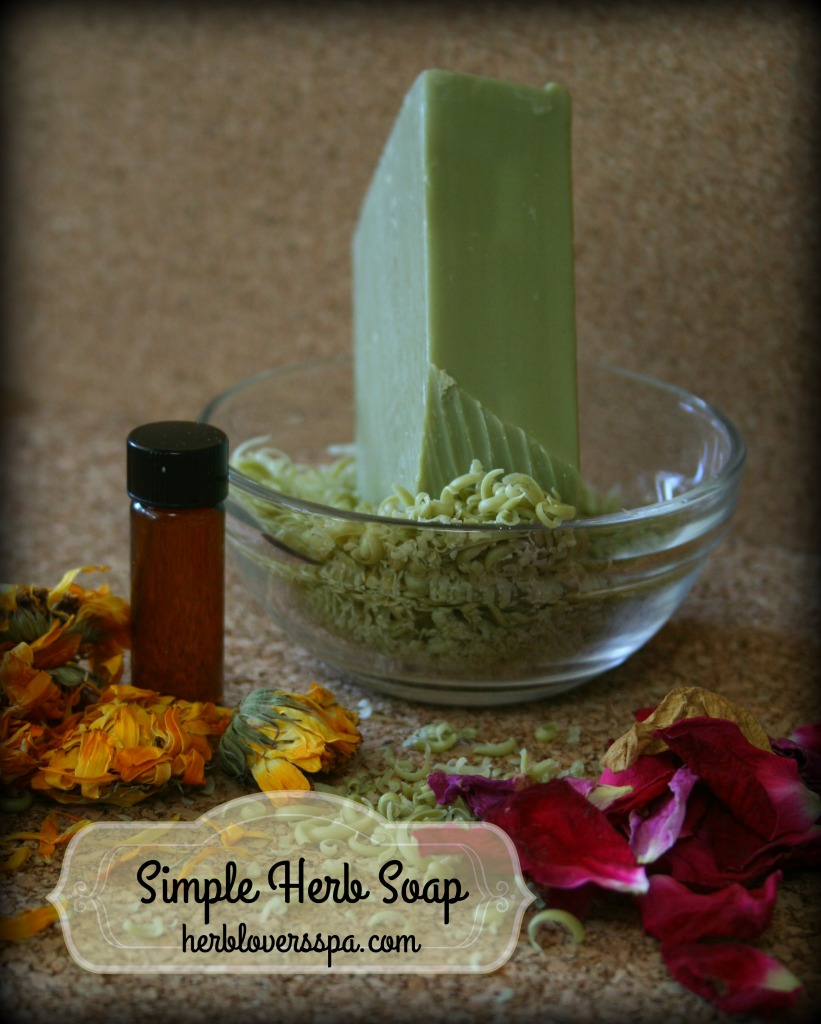 simple herb soap 2
